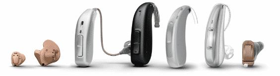 Hearing aid lineup