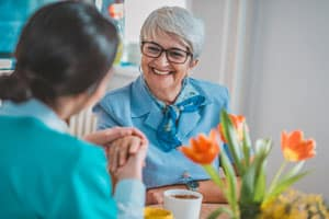 Woman with Alzheimer's in Southbury, CT